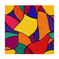 100yellow Printed Peel and Stick Decor Self Adhesive Wallpaper (Multicolour, PVC Vinyl, 26.7 Sqft)