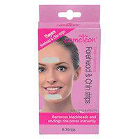 Cameleon Deep Cleansing Forehead & Chin Strips ( Quick, Easy & Effective ) - 6 Strips
