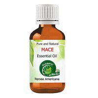Globatic Herbs MACE Essential Oil 15ml (Myristica Fragrans) Organic, Undiluted, Aromatherapy & 100% Therapeutic Grade