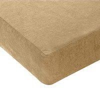 Story@Home Waterproof and Dustproof Terry Cotton Mattress Protector - 78 X 36 Inches, Single Size, Beige