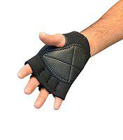 Kamachi Gym Gloves Padded for Weight Lifting Exercise (Thickness: 3 MM) (Medium)