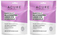 Acure Organics Radically Rejuvenating Under Eye Hydrogel Mask (Pack of 2) With Cucumber and Silk Tree, For Age Performance, .236 fl. oz.