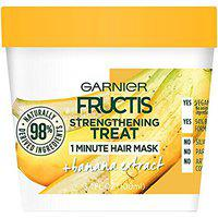 Garnier Fructis Strengthening 1 Minute Hair Mask, Banana, 3.4 fl. oz. (Pack of 2)
