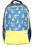 wildcraft 29 ltrs Blue Casual Backpack (11647-blue)