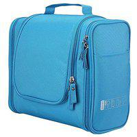 House of Quirk Canvas Toiletry Bag (Light Blue_H_DUNDES_LBLU)
