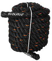 Cockatoo BR-50 Professional Use (1.5 Thick / 30 Feet(9 Mtr) Battle Rope; Exercise Rope (30 Feet)