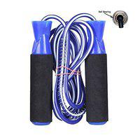 Neulife Exclusive Skipping Rope for Men Women Weight Loss (Blue, Pack of 1)