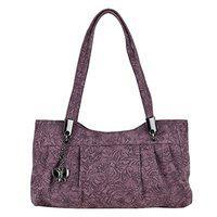 Butterflies Women Handbag (wine) (bns 0662wn)