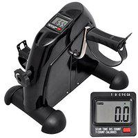 IRIS Fitness Arm and Leg Pedal Exerciser with Digital Display Mini Exercise Bike Indoor Fitness Cycling Resistance Adjustable