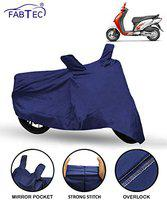 Fabtec Scooty/Scooter Cover for Honda Activa I Scooty/Scooter Cover (Blue)