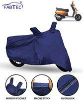 Fabtec Scooty/Scooter Cover for Mahindra Gusto Scooty/Scooter Cover (Blue)