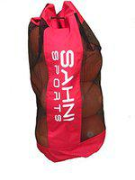 Sahni Sports Premium Football Carry Bag (for 8-10 Balls Size 5) Red Color