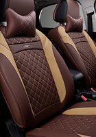 FRONTLINE Accessible Series PU Leather Car Seat Cover for Hyundai Santro Xing