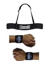 Diablo Combo20182 Home Gym Combo of Arm Blaster & 1 Pair of Wrist Support