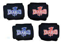 DIABLO Home Gym Combo of 2 Pairs Wrist Support
