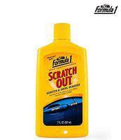 Formula 1 Scratch Out Remover Heavy Duty Liquid for All Car (207 ml)
