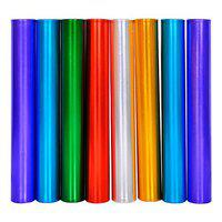 SAS SPORTS Aluminum Relay Batons for Athletics Practice Round Shape with Good Hand Grip (38 mm Diameter) Set of 8