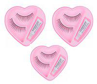 Jampak Charming Eyelashes Set Of 3 For Eye Makeup