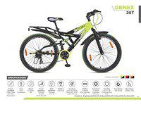 Hero Sprint GENEX- 26T 21 Speed with Integrated Carrier Multi Colour