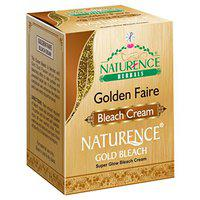 Naturence Herbals Golden Faire Bleach Cream, 43gm (Pack of 3)