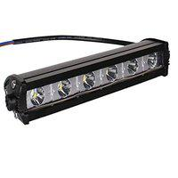 Pivalo 6 LED Fog Light IP67 Waterproof 7 inch Spot Flood Beam Work Lamp Bar with Installation Accessories (18W, Pack of 1)