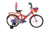 BSA Doodle 20T Single Speed Steel Cycle (Smart Red) 13inch Frame