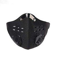 DALUCI Neoprene Anti Dust Filter half Face Mask Motorcycle Cycling Bicycle Bike Ski - Black