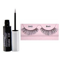 GlamGals Eye Lashes with Glue Transparent 6.5 ml