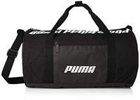 Puma Women Black Core Barrel S Brand Logo Duffel Bag