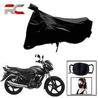 Riderscart All Season (Weather) Waterproof Bike Cover for Tvs Star City Indoor Outdoor Protection Combo with Storage Bag and Face Mask