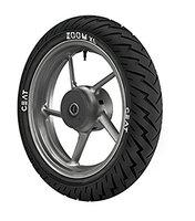 140-70-17 Ceat Zoom XL Tubeless Type Tyre For Bike,Black (TUBELESS)