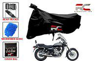 Riderscart All Season (Weather) Waterproof Bike Cover for Avenger 220 Indoor Outdoor Protection Combo with Storage Bag and Microfiber Glove
