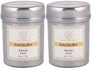 Khadi NaturalFruit Herbal Face Mask Pack, 50g (Pack of 2)