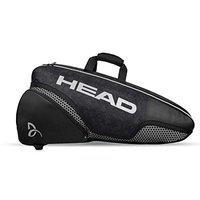 HEAD Djokovic 6R Combi Tennis Kit Bag (Compartments: Two   Capacity: 6 Racquets)