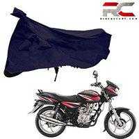 Riderscart 100% Water Proof Two Wheeler Bike Cover Cover for Bajaj Discover 125 Bicycle Cover Heavy Duty Outdoor Cycle Anti-UV Protection with Anti Theft Lock Holes and Buckles with Warranty