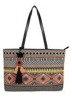 Anekaant Neon Multicoloured Jacquard Shoulder bag