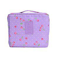 TIED RIBBONS Travel Toiletry Pouch Makeup Organizer Cosmetic Bag Makeup Organizer Storage Kit for Women (22 cm X 17 cm)