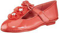 Minnie Girl's Red Ballet Flats-11 Kids UK/India (30 EU) (MMPGBE1747)