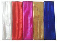 Prime Elastic Stretch Sparkly Headband, For Girls, Sports Headbands, 27 Gram, Multi Color, Pack Of1