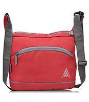 Adamson Fristo Men's Polyester Slingbag (Red)