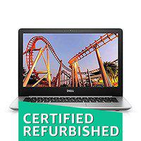 (CERTIFIED REFURBISHED) DELL Inspiron 5370 13.3-inch FHD Laptop (Core i5-8250U/8GB/256 SSD/Win 10/ Pre-Installed MS Office Home & Student 2016 /Integrated Graphics), Silver