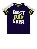 Boys Best Day Ever Purple (10-11 Years)