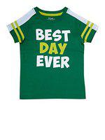 Boys Best Day Ever Green(2-3 Years)