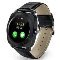 KEMIPRO Bluetooth Smart Watch with Camera, Sim Card and Multilanguage Support, Black Colour Compatible with All Smartphones