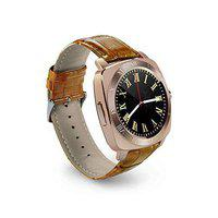 KEMIPRO Bluetooth Smart Watch with Camera, Sim Card and Multilanguage Support, tan Color Compatible with All Smartphones