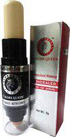 COLORS QUEEN PROFESSIONAL MAKEUP GALAXY CONCEALER WITH PUFF & COVERAGE CREAMY WITH SMUDGER CONCEALER 2 IN 1