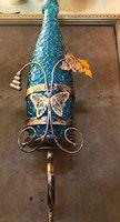 Imper!al Bootle Shaped Imported Design Decorative Wall Light Wall Lamp (Copper Antic and Blue Color)
