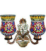 Weldecor Handcrafted Antique Brasso Magical Wall Lamp/Decorative Lamp/Wall Light for Home