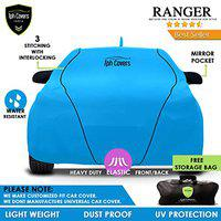 TPH Covers Ranger All Weather Proof Custom Fit Car Cover Piping for Maruti Suzuki Baleno (Blue)