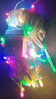 XODI Rocket Light Decoration Lighting for Diwali Christmas 80 Bulb 20 Meter with Changer Switch Multi Colour